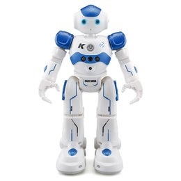 Wholesale RC Intelligent Programming Remote Control Toy Biped Humanoid Children Kids Birthday Gift Smart Robot Dog Pet Z1201