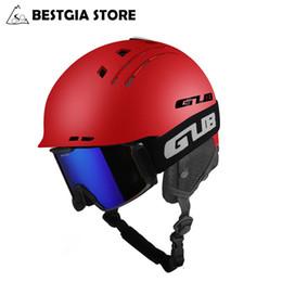 GUB New Skihelm Sportsicherheit Ski Snowboard Helm Ultraleichte atmungsaktiv Winter-Skateboard-Helm für Männer Frauen 58-60cm im Angebot