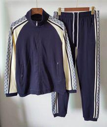 New 2020s Men's luxury full zip designer tracksuit man medusa sport suit Men jogger set fashion mens hoodies sweatshirts outdoor sportswear