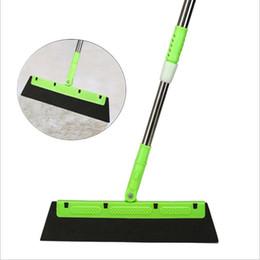 venda por atacado Mops Vassoura mágica Multi-função Mop extensível Silicone de água do limpador raspador Dust Brush Janela Pá Remoção Cleane rMagic Mop LSK303