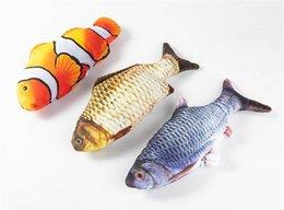 Hareketli Balık Elektrikli Oyuncak İçin Kedi USB Şarj İnteraktif Kedi Oyuncak Catnip Malzemeleri Kedi Balık Flop Kedi sallama Oyuncak Bite Chew