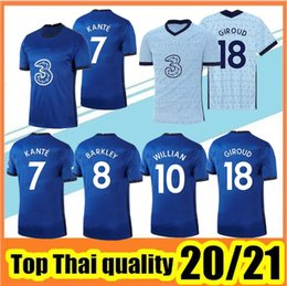 Wholesale hudson for sale – custom Top Quality PULISIC Soccer Jerseys ABRAHAM MOUNT WILLIAN LAMPARD Football Shirt HUDSON ODOI KANTE Men Uniforms