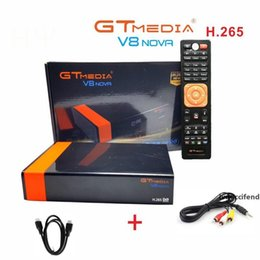 free tv receiver box UK - GTMEDIA V8 NOVA Satellite TV Receiver DVB-S2 freesat V8 Super built-in WIFI H.265 TV Box Free Europe cline