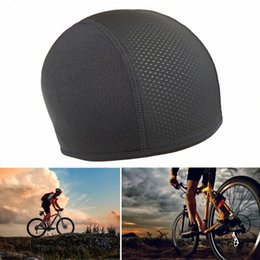 skate caps Canada - Unisex Motorcycle Bike Riding Bicycle Quick Dry Sports Hat Windproof Skating Cycling Cap Helmet Soft Elastic y9Ph#