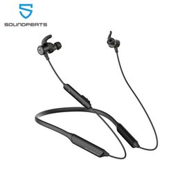 earphones bluetooth stereo Australia - heap Bluetooth Earphones & Headphones SoundPEATS Force Pro Bluetooth Wireless Earphones CVC Built-in Mic Stereo Super Bass in-Ear Magneti...