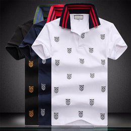 xxxl long sleeve polo UK - luxurious Mens Stylist Polo Shirts Mens 2020 Stylist Clothes Short Sleeve Fashion Mens Summer T Shirt Size M-XXXL