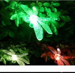 dragonfly garden lights NZ - Color-Changing LED Solar Landscape Path Light Outdoor Dragonfly Butterfly Bird Lawn Lamps Garden Lawn Landscape Lamp