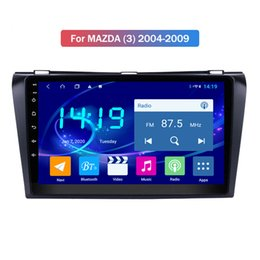 mazda car dvd gps navigation UK - 2 Din 8 Core 4+64G Car DVD Player For MAZDA (3) 2004-2009 Android Navigation With Autoradio Stereo Bluetooth WIFI Map DSP