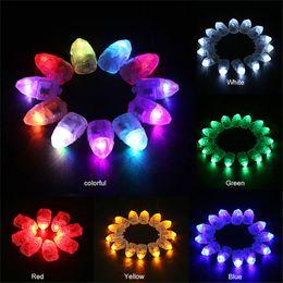 Bunte LED-Ballon-Licht-Blitz-Kugel-Lampen Papier Mini Laterne Ballon-Lampen-Weihnachts Halloween-Party-Dekoration Licht im Angebot