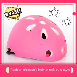 climb helmets Australia - Children's outdoor mountaineering rock Helmet helmet climbing landing rescue expansion safety hat equipment Sports roller skating