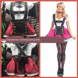 Wholesale sexy beer uniforms resale online - Special offer German beer festival uniform bar DS night sexy uniform Wansheng festival costume Bar clothingclothing women s costume