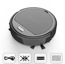 Wholesale Automatic household super thin not heavy lazy intelligent sweeping robot super power cleaner super convenient USB charging ground cleaner