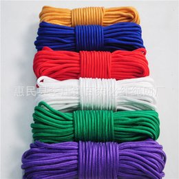 umbrella rope UK - Outdoor colored braided binding umbrella binding decorative nylon woven rope nylon rope rope