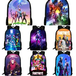 laptop backbag Canada - Business Laptop Backpack Inch Casual Bagpack Luggage fortress night Bag Backbag High School Student Travel Solid Color fortnite Oxford zqHCd