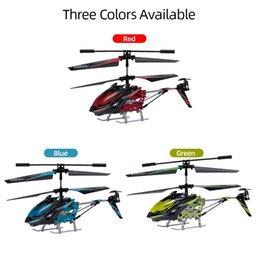 wltoys helicopters UK - Wltoys S929 RC Drone 2.4G 3.5CH Light RC Helicopter Toys For Beginner Kids Children Gifts