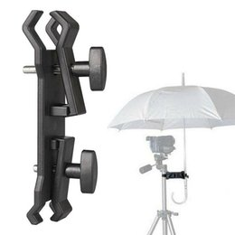 Wholesale Outdoor Camera Umbrella Holder Clip Bracket Stand Clamp Photography Accessory