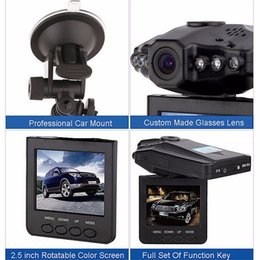 dvr cars Canada - Wholesale New 2.5'' Car Dash cams Car DVR recorder camera system black box H198 night version Video Recorder dash Camera