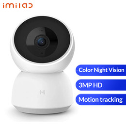 webcam ip Canada - Xiaomi IMILAB IP Camera 1296P 2K FHD Smart Camera WiFi Webcam Color Night Vision Camera Baby Security Monitor