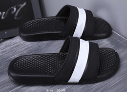 c strap men UK - 2019 New Suprize Design Fashion Beach Rubber Outsole Designer Flip Flops Women Men Summer Sandals Fashion Outdoor Slippers 36-44 cs07