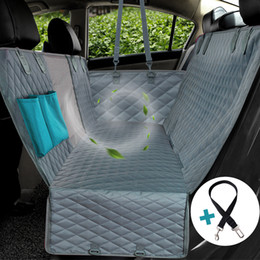 Car Seat Cover Mat For Cat Dog Safety Pet Waterproof Hammock Blanket Cover Mat Pet Carrier Car Rear Back Seat Mat Hammock Cushion Protector