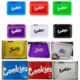 Cookies Glow Tray Runtz LED leuchten Wiederaufladbare Behälter Des Rollen Zigarette Fach für trockene Kräuter Lagerung Verpackung im Angebot