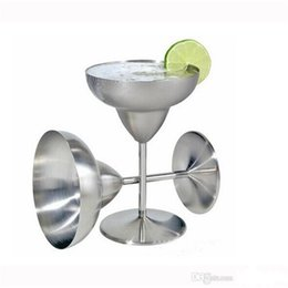 goblet wine glasses wholesale Canada - Summer Promotion Cocktail Glasses Wine Cup Champagne Wedding glass Martini Cup whiskey Goblet Cocktail Wine Cup DHL FREE