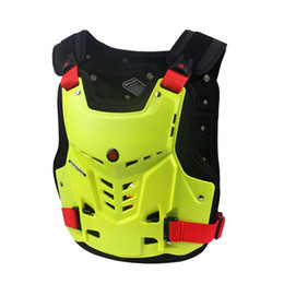 SCOYCO Motorcycle Body Armor Motorcycle Jacket Motocross Moto Vest Back Chest Protector Off-Road Dirt Bike Protective Gear on Sale