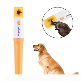 electric nail polisher Australia - Pet Electric Nail Clipper Nail Polisher Accessories Cat Dog Pet Claw Nail Grooming Electric Grooming Kit Manicure Pet Tool