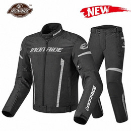 motorcycle protection jacket Australia - IRONRIDE New Arrival ! Motorcycle Jacket Men Jaqueta Motociclista Waterproof Riding Racing Moto Protection Jacket With Linner nLlC#