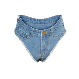 Wholesale denim booty shorts for sale - Group buy 2020 Sexy Vintage Mini Short Jeans Booty Shorts Cute Bikini Denim Short Hot Sexy Club Party Bikini Bottom