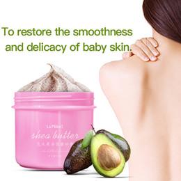Großhandel Peeling-Gel-Körperpeeling-Creme Shea Butter Fruit Skin Whitening Go Cutin abgestorbene Hautfeuchtigkeitsspendende Körperpflege 250G