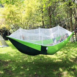 lift beds Canada - Practical Durable Swing Hanging Bed Tent Hammock Hanging Camping Tents Mosquito Net Couch Travel Sturdy Lifts Outdoors UEvh#