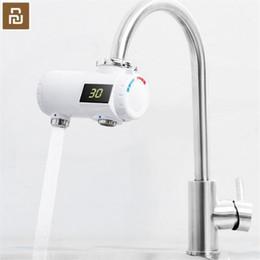 Wholesale XIAOMI Youpin Original Xiaoda Water Heater Tap Kitchen Faucet Instantaneous Water Heater Shower Instant Heaters Tankless Water Heating Tap