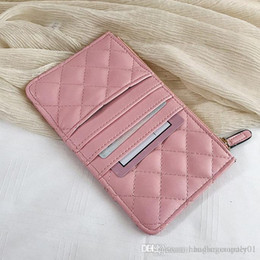 cc purses NZ - designer handbags Quilted Clutch Bags Purses Wallets Holders Lady Womens Leather Bags Card Holders Fashion Coin Purse Wallet #CC