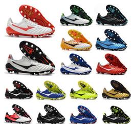 2020 Yeni Geliş Morelia Neo 2 FG Deri Futbol Profilli Düşük Futbol Ayakkabı Erkek Futbol Boots Açık Ucuz Boyut 39-45