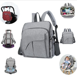 baby bag backpack designer UK - Baby Backpack Bag Organizer With Handbag Nappy USB Port Function Seat DW4795 Dining Chair Travel 15pcs Diaper Stroller Multi B Pjosh