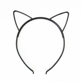 cartoon cat hair accessories Australia - Children cartoon plastic cat ear accessories hair band hair accessories headwear headband special price