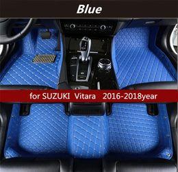 para SUZUKI Vitara alfombra del piso estera de suelo de la cabina 2016-2018year antideslizante no tóxico en venta