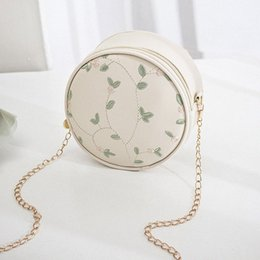 round lady handbags NZ - New Arrival Woman Small Round Bag 2020 Spring Messenger Bag Sweet Lady Elegant Chain Embroidery Shoulder Phone Coin Tote Handbags Reli grIl#