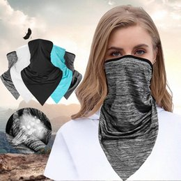 climbing gaiters NZ - Sports Unisex Head Face Neck Gaiter Tube Bandana Scarf Beanie Dustproof Outdoor Hiking Bandana Scarves Riding Camping Climbing XsbF#