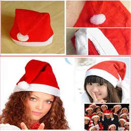 Çocuk Noel Cosplay Christmass Oyuncak Dekorasyon Yetişkin Parti Şapka LED Işık Flaş Kırmızı Santa Claus Şapka Ultra Yumuşak Peluş