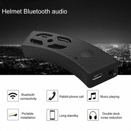 sporting bicycle speaker NZ - Outdoor Sports Hands Free Stereo Helmet Headset Mini Music Bicycle Audio Motorcycle Accessories MP3 Subwoofer Bluetooth Speaker f0lq#