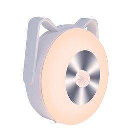 battery motion sensor night light Canada - LED Motion Sensor Night Light Potable Closet Lights Battery Powered Wireless Cabinet IR Infrared Motion Detector Wall Lamp