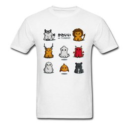 lovely games UK - 2019 Men T Shirts Kawaii of Thrones T-Shirt Summer Tops & Tees Lovely Game Of Thrones Tshirt Cat Lover Father Clothing Cotton
