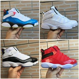 cool shoes for basketball NZ - Kids Basketball Shoes Jumpman 6 6s Six Rings Taxi Concord Space South Beach Defining Moments Cool Grey For Mens Women Sneakers