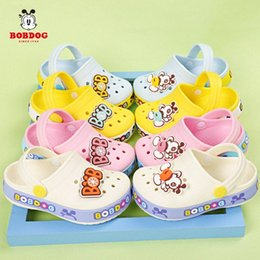 beach shoes holes UK - Childrens Slippers Babdog 1 5 Year Old Boy Hole Sandals Girl Baby Princess Garden Slippers Kids Fashion Beach Shoes SO013 ouSJ#