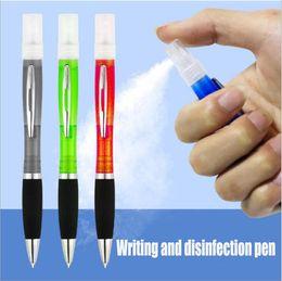 stylo jet de stérilisation et de désinfection portable ascenseur de presse personnalisé dédié stylo à bille écriture de presse multi-fonctions Agents d'assainissement en Solde