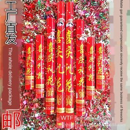 IFiAk 60cm dönen Şerit hediye Tüp parti şenlikli Qingming selam 60cm dönen selam Kurdele hediye Tüp parti şenlikli Qingming fişek f