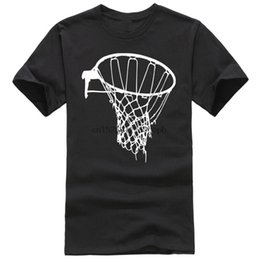 Wholesale cotton net t shirts for sale – custom Male Harajuku Top Fitness Brand Male Battery Funny Cotton Tops Tall Men O Neck Basketballer Net T Shirt