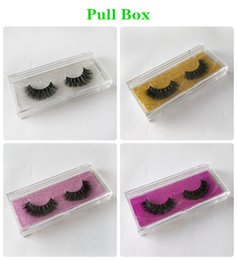 eyelashes retail Australia - 3D Mink Hair False Eyelashes Factory Outlet Magic Princess Pair Natural Nude Makeup Eyelash Wholesale and Retail DHL shipping